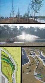 Aménagements paysagers de l' A19
