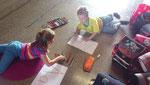 Buchstabenerarbeitung, 1. Klasse Volksschule Grünbach, Schuljahr 2013/14