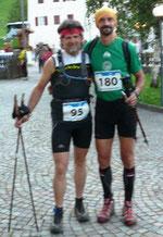 Martin und Roberto vor dem Start