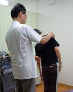 施術の前ににまず検査を。自分の身体の状態を確認しましょう。