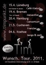 Wunsch. Tour. 2011.