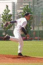 草野球チーム アロハ 投手 高山