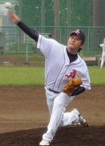 草野球チーム アロハ 投手 水倉