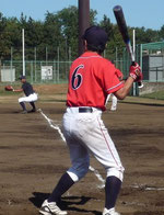 草野球チーム アロハ 佐々木