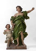 Cornelis Vander Veken, Ange gardien, Collégiale Notre-Dame de Huy, copyright : M.Lefftz