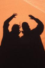 Silvia e Cristiano - Deserto del Namib