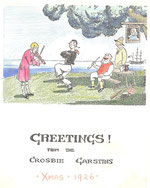 Christmas Card from Crosbie Garstin 1926