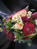 今日、出演者に贈ったお花
