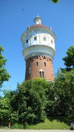 """Wasserturm von Lyck, der Sitz der """"Deutschen Minderheit!"""