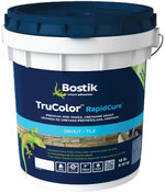 A 9lb Bucket of Bostik Trucolor Urethane Grout