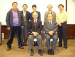 当日の講演会講師 慶應義塾大学名誉教授 河合正朝さん を囲んで