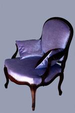 fauteuil à la reine Louis XV