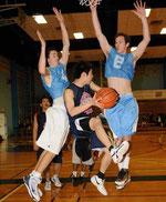 バスケットボール日米学生交流
