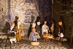 Szene aus der Milieukrippe von Lyskirchen nach Weihnachten