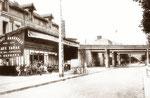 Café de la gare vers 1945