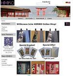 Screenshot der Webseite des Shops