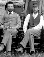 Claver and Samuel Casavant in 1895