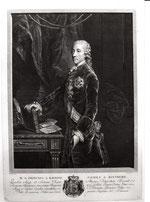Wenzel Anton Graf von Kaunitz-Rietberg (1711-1794) - Stich von J. Schmuzer, 1765