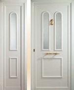 Puerta entrada aluminio huesca