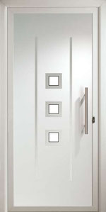 Panel decorativo Tirso con vidrio mate