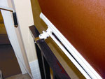 STOR vertical con fijación directa a la barandilla