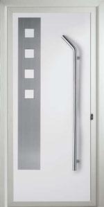Panel decorativo para puerta de entrada de aluminio