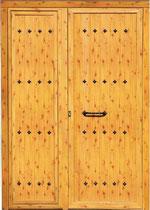 Puerta entrada rústica Vizcaya