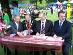 Signature des maires
