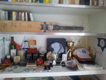 Peter de Boeck's trophy cabinet