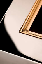 Marcel Design Tisch NOBLESS Akzent W Messing