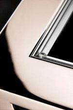 Marcel Design Tisch NOBLESS Akzent W Chrom