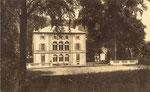 Chateau de Bourguignon début 20ième siècle