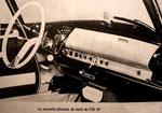 Tableau de bord ID 19 sans emplacement pour un autoradio