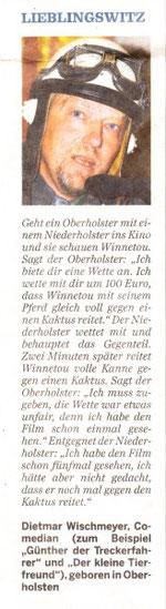 Lieblingswitz v. Dietmar NOZ im August 2006
