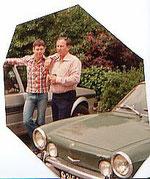 mit fritz und meinem sportwagen..1978