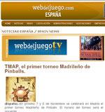 TMAP en la web del juego