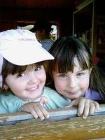 Dans la cabane avec Naïs
