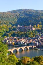 Blick auf die Alte Brücke und das Schloss