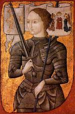 Jeanne d'Arc, Miniatur (15. Jh.)