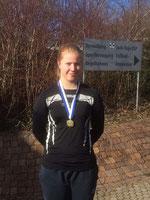 Der 4kg-Hammer flog auf 55,60m - Gold für Kirsten Vogt