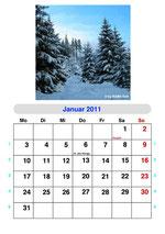 PC/GEOS GeoWrite Fotokalender