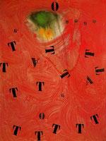 Letras y cifras atraídas por una centella