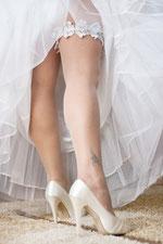 Strumpfband, Hochzeit, Brauch