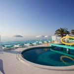 Santos Ibiza Suites an der Playa den Bossa in Ibiza