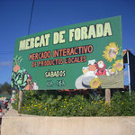 "Öko-Markt ""Mercado de Forada"" samstags in Buscastell"