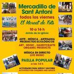 Der Freitags-Markt in Sant Antoni auf Ibiza