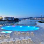 Sol House Ibiza mit Meerblick über Cala de Bou