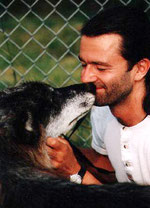 Kissed by a Wolf - Photo taken by Monty Sloan