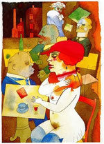 Gemälde: Grosz