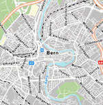 Interaktive Karte von Bern